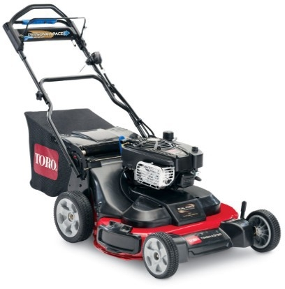 "TORO 30"" Timemaster Personal Pace Mower, Electric Start,"