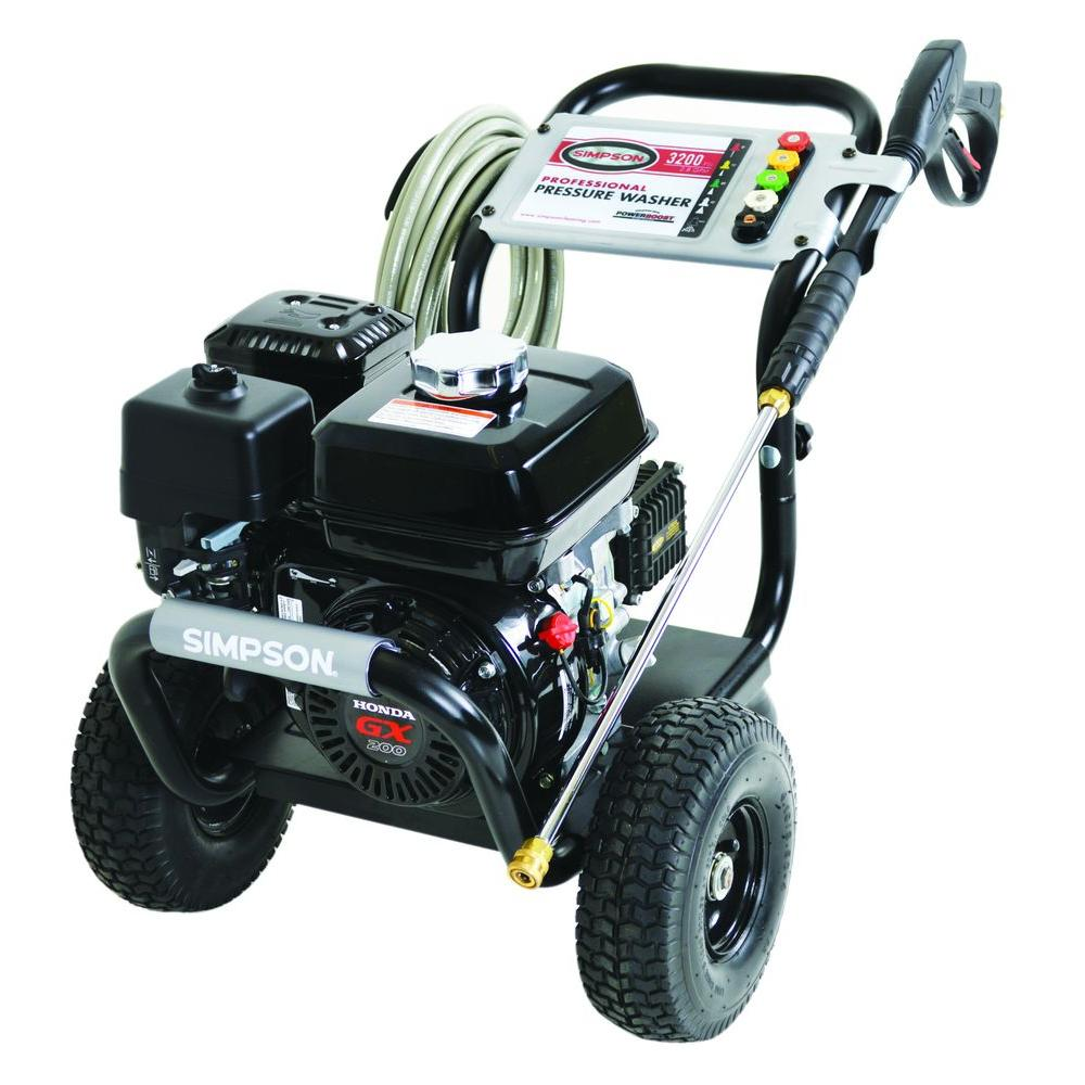Simpson pressure washer 3200psi