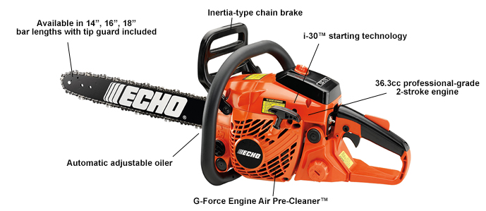 ECHO CS370-16 Chain saw